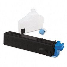 TK502C Toner Cartridge, 8,000 Page Yield, Cyan