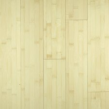 "Premium Green 3-3/4"" Solid Bamboo Flooring in Natural Horizontal"