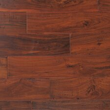 "Kensington II 5"" Smooth Engineered Acacia Flooring in African Black Walnut"