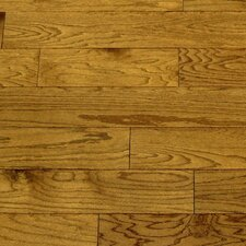 "Dakota II 5-1/2"" Smooth Engineered Red Oak Flooring in Saddle"