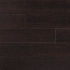 "Strand Woven 5"" Solid Bamboo Flooring in Python Brown"