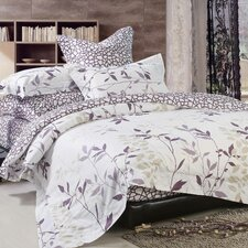 Iris 4 Piece Duvet Cover Set