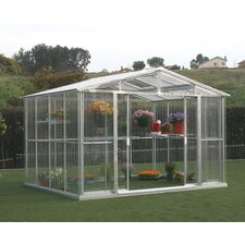 7.0' H x 10.5' W x 8.0' D Polycarbonate Greenhouse