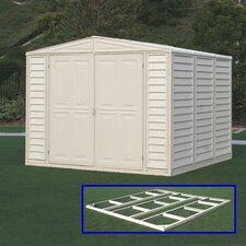 DuraMate 8ft. W x 8ft. D Vinyl Storage Shed