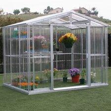 Promo 8.5 Ft. W x 6 Ft. D Polycarbonate Greenhouse