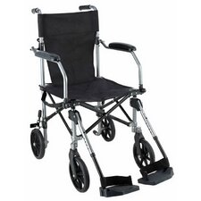 "Easy Go 19"" Ultra Lightweight Transport Standard Wheelchair"