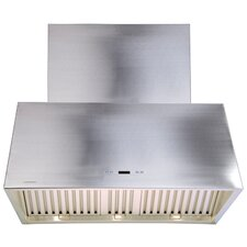 "Stainless Steel 30"" x 20"" Wall Mount Range Hood with 900 CFM"