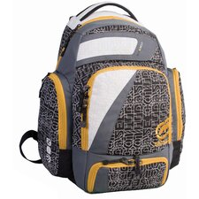 Unlimited Block Party Backpack in White