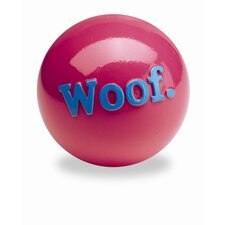 Orbee-Tuff Woof Ball Dog Toy in Pink