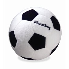 Squeaky Plush Soccer Ball Dog Toy
