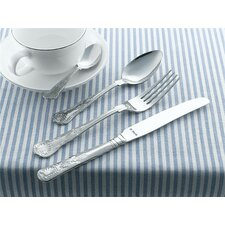 Kings Monogram 62 Piece Cutlery Set