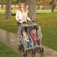 Side By Side Stroller Weather Shield