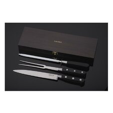 Sabatier Trompette 3 Piece Carving Knife Set