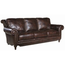 Greenwich Leather Sofa