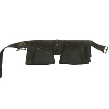 Oiled Top Grain Leather 10 Pocket Tool Belt
