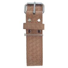 "Embossed Heavy Top Grain Leather 2"" Work Belt"