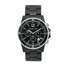 Women's Black Plastic Watch
