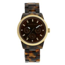 Women's Jet Set Watch in Tortoise