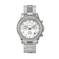 Women's Glitz Watch in Silver