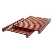 "16"" Adjustable Shelf in Red Mahogany (Set of 2)"