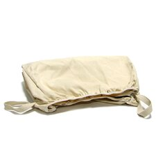 Hamper Basket Liners in Satin Nickel