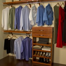 "<strong>John Louis Inc.</strong> Woodcrest 16"" Deep Closet System"