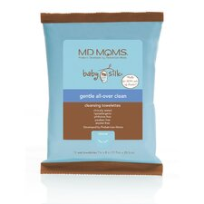 <strong>MD Moms</strong> Gentle All-Over Clean Cleansing Towelette Travel Pouch