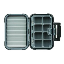 Blue Ribbon Medium Fly Box with Eight Compartments