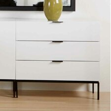Riva 3-Drawer Buffet