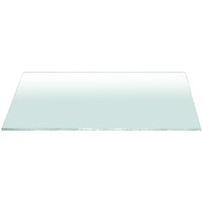 Clear Glass Console Table Top