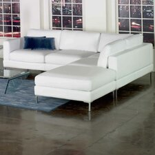 <strong>Star International</strong> Domicile Loft Leather Sectional