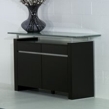 "42"" Ritz Buffet with Crackle Glass"