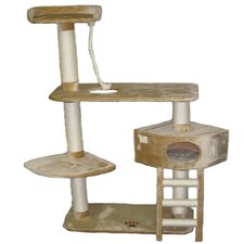"64"" Cat Tree in Beige"
