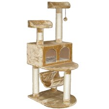 "54"" Faux Fur Cat Tree"