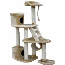 "59"" Cat Tree in Beige"