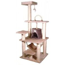 "65"" Cat Tree in Beige"