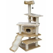 "<strong>Go Pet Club</strong> 70"" Faux Fur Cat Tree"