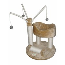 "<strong>Go Pet Club</strong> 34"" Cat Tree in Beige"