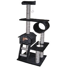 "<strong>Go Pet Club</strong> 60"" Cat Tree in Black"