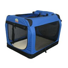 Travel Pet Crate in Blue