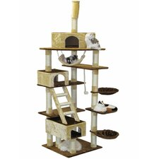 "95""-108"" Condo House Cat Tree"