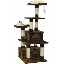 "67"" Condo House Cat Tree"