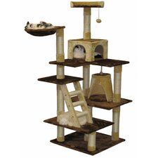 "<strong>Go Pet Club</strong> 72"" Condo House Cat Tree"