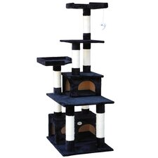 """67"""" Cat Tree and Scratcher Post"""