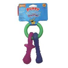 <strong>Nylabone</strong> Puppy Teething Pacifier Dog Chew Toy