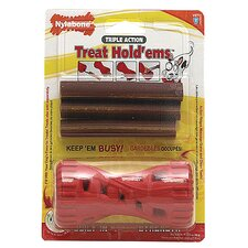 Treat Hold Ems Dog Toy and Treat