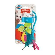 Interactive Wand and Clip Cat Toy
