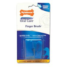 <strong>Nylabone</strong> Advanced Oral Care Finger Brush for Dog - 2 Count