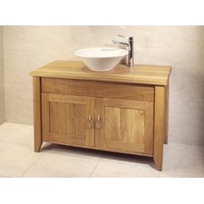 Aquarius Bathroom Double Wash Stand with Two Doors