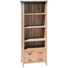 New Court Open Slim Bookcase